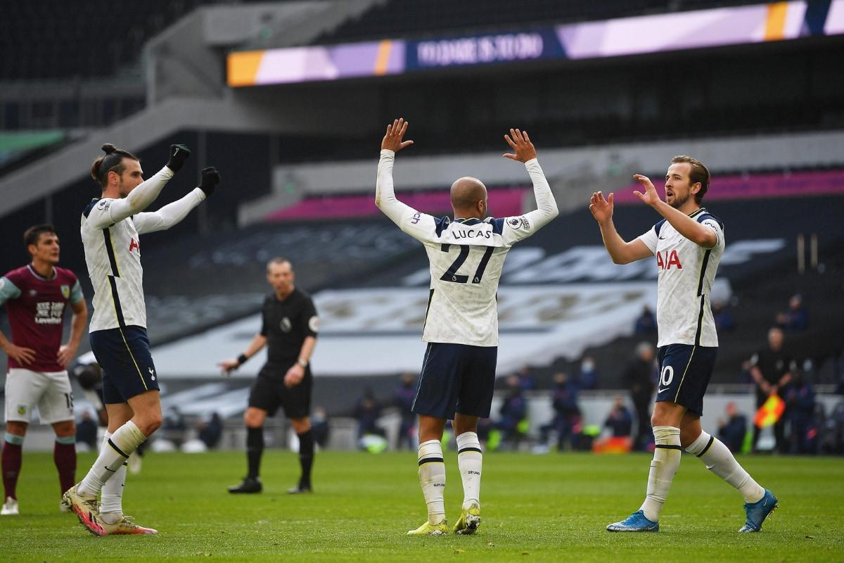 Gareth Bale scored two goals as Tottenham Hotspur Root Burnley - India News  Republic