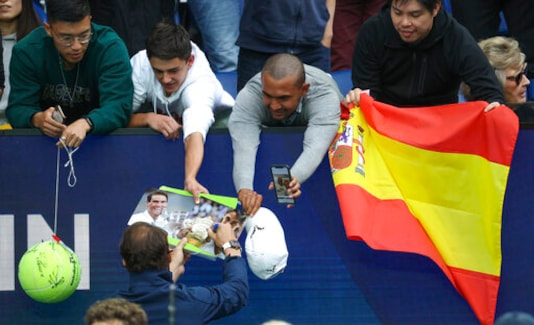 The Tennis Crowd: Players Thrive With Fans Back In Australia