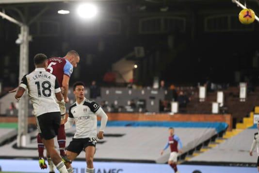 Soucek Sent Off As West Ham Held 0-0 By Fulham In EPL
