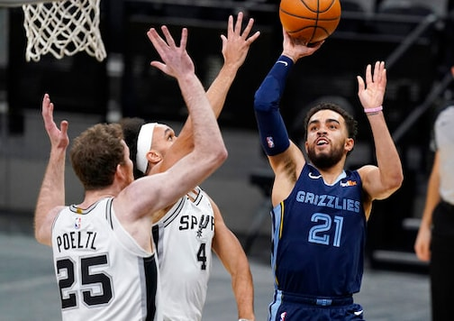 Grizzlies Dominate Spurs 133-102 For 7th Straight Victory