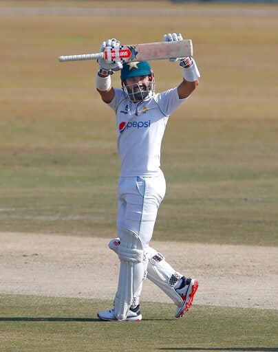 Rizwan's 73no Stretches Pakistan Lead To 288 In 2nd Test