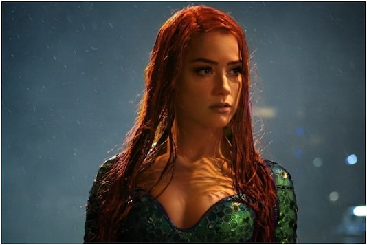 Amber Heard in Aquaman.