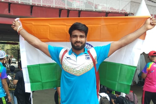 Sandeep Chaudhary (Photo Credit: GoSports Foundation Twitter)