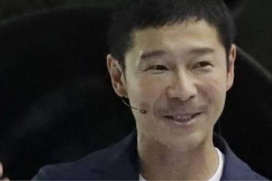 Japanese billionaire Yusaku Maezawa Image Credit (IANS)