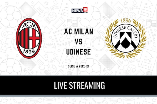 Serie A: AC Milan vs Udinese
