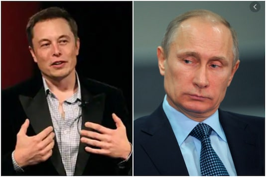 Elon Musk and Vladimir Putin | Image credit: Reuters