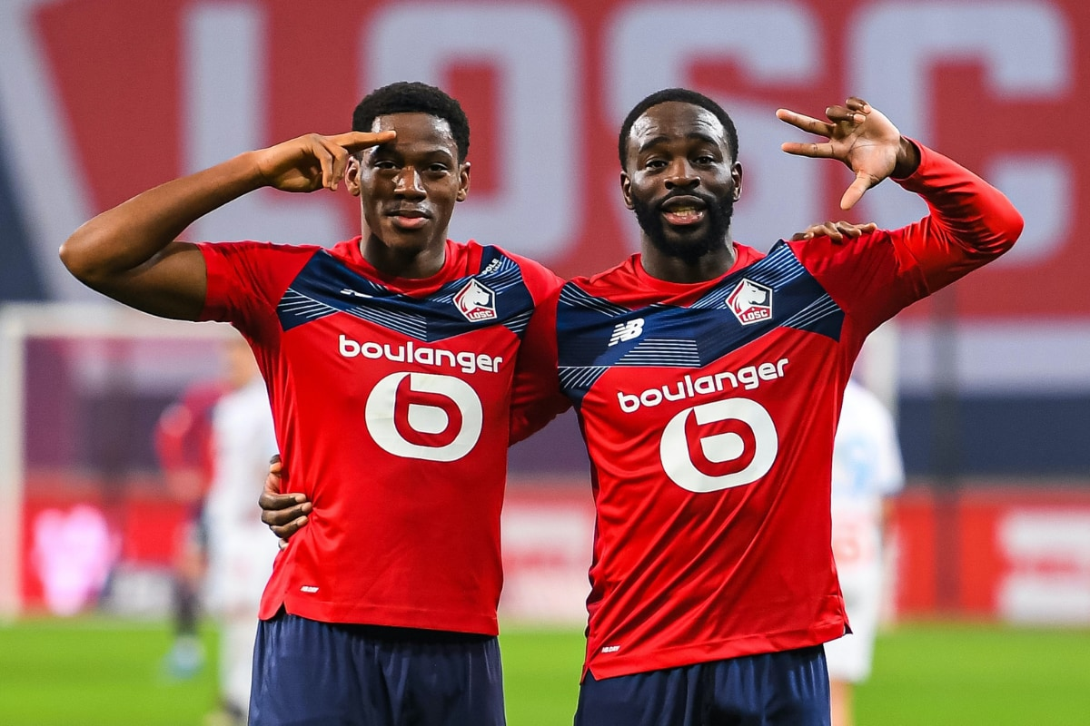 Jonathan David Scored 2 as Lille Beat Marseille 2-0 to Stay Top of Ligue 1  - Logicblogging.com