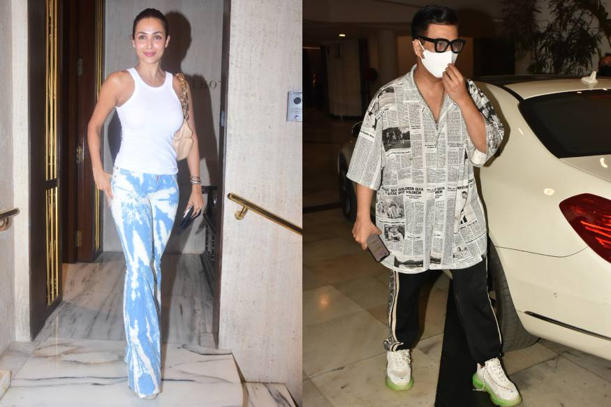 Malaika Arora, Karan Johar, Varun Dhawan And Other Celebrities Spotted Out And About
