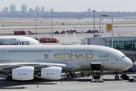 File Photo of Etihad Airways