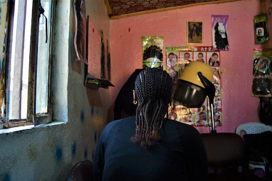 The migrants, some deported, some voluntarily repatriated after losing their jobs have taken to prostitution to eke out a living. (Credit: REUTERS)