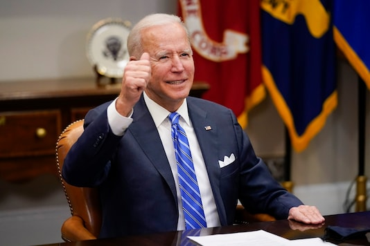File photo of US President Joe Biden (Image: AP)