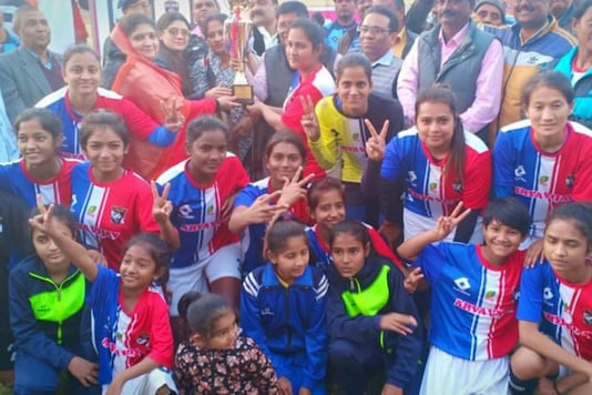 File image of Shirsh Bihar United FC from Shirsh Women's Cup 2019. (Photo Credit: Special Arrangement)