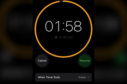 Apple iPhone Timer