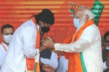 Mithun Chakraborty Falls Ill While Campaigning for BJP in Raiganj, Flown Back to Kolkata