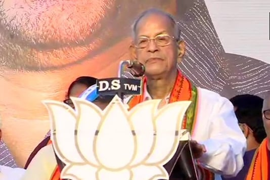 E Sreedharan addresses BJP rally. (Image: Twitter/ANI)