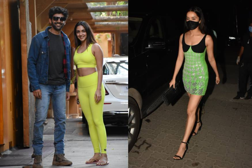 Kiara Advani, Shraddha Kapoor, Kartik Aaryan And Other Celebrities Spotted Out And About