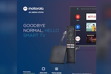 Motorola 4K Android TV Stick With Built-in Chromecast Launched in India, Priced at Rs 3,999