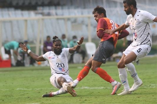 RoundGlass Punjab FC and Mohammedan SC (Photo Credit: AIFF)