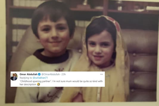 Omar Abdullah's sister Sagia took to Twitter to wish him on his 51st birthday.