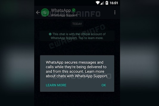 Support Chat Thread with WhatsApp (Image: Twitter / @WABetaInfo)