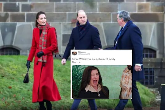 Prince William trolled on Twitter for defending UK Royal family.