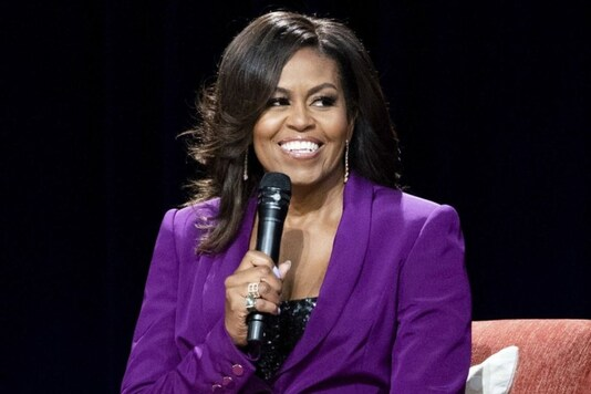 In this May 11, 2019, file photo, former first lady Michelle Obama speaks during an appearance in Atlanta. Credits: AP.
