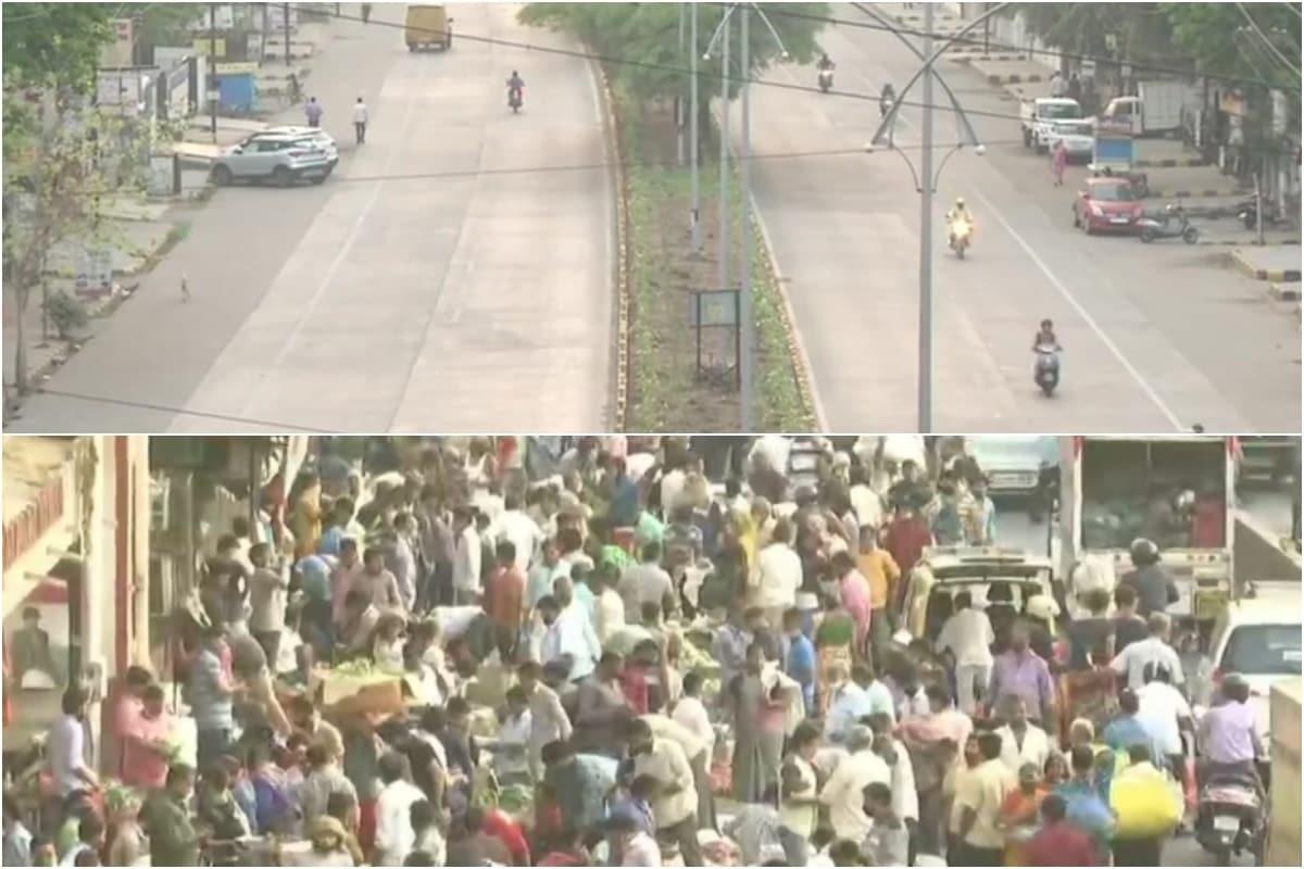 Mumbai's Crowd vs Deserted Nagpur: Two Sides of Maharashtra as Govt in Full Swing on Lockdown Plans - News18