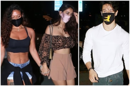 Tiger Shroff Spotted Out for Dinner with Sister Krishna and Rumoured Girlfriend Disha Patani