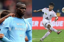 NorthEast United FC's Apuia Says Mario Balotelli Inspired His 45 Jersey No, Italian Responds