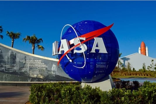 Logo of NASA. (Reuters)