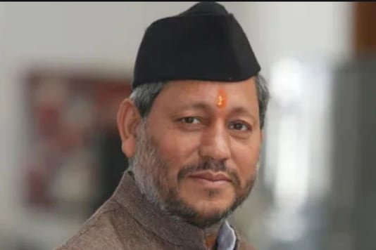 File Photo of Uttarkhand CM Tirath Singh Rawat.