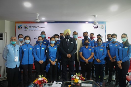 NRAI will be hosting the ISSF Shooting World Cup in New Delhi. (Photo Credit: NRAI)