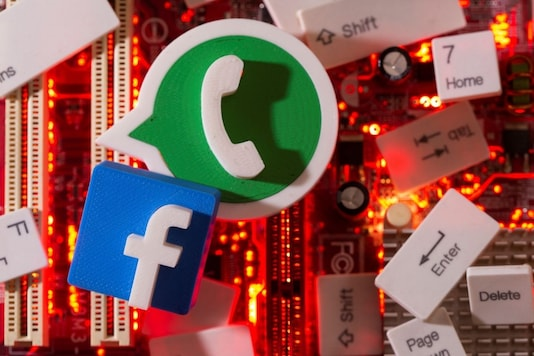 Representative image of Facebook and Whatsapp. REUTERS