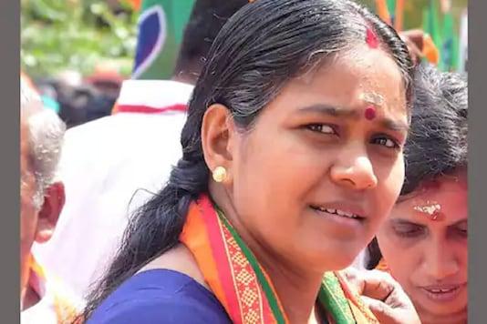 File photo of Kerala BJP leader Sobha Surendran.