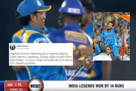 Twitter screenshot / file image of Sachin Tendulkar (News18).
