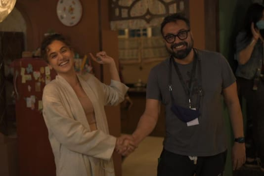 Taapsee Pannu Wraps Dobaara, Promises More Collabs With Anurag Kashyap