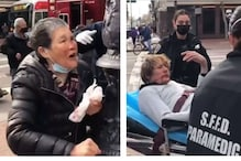 Elderly Asian Woman in San Francisco Beats Attacker with Walking Stick, Help Pours in after Viral Video