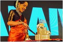 Kangana Ranaut Celebrates Birthday with Trailer Launch of Thalaivi, See Pics