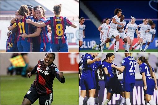 Lyon, Chelsea, Barça And Bayern Win In Women's CL Final 8 (Photo Credit: Twitter)