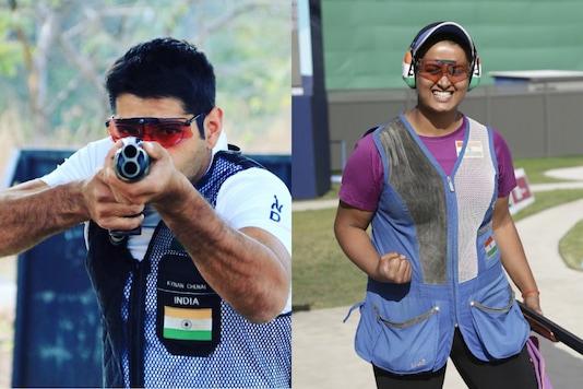Kynan Chenai and Shreyasi Singh (Photo Credit: Twitter and PTI)