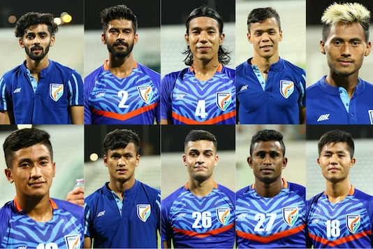 Indian's debutant's against Oman (Photo Credit: AIFF)