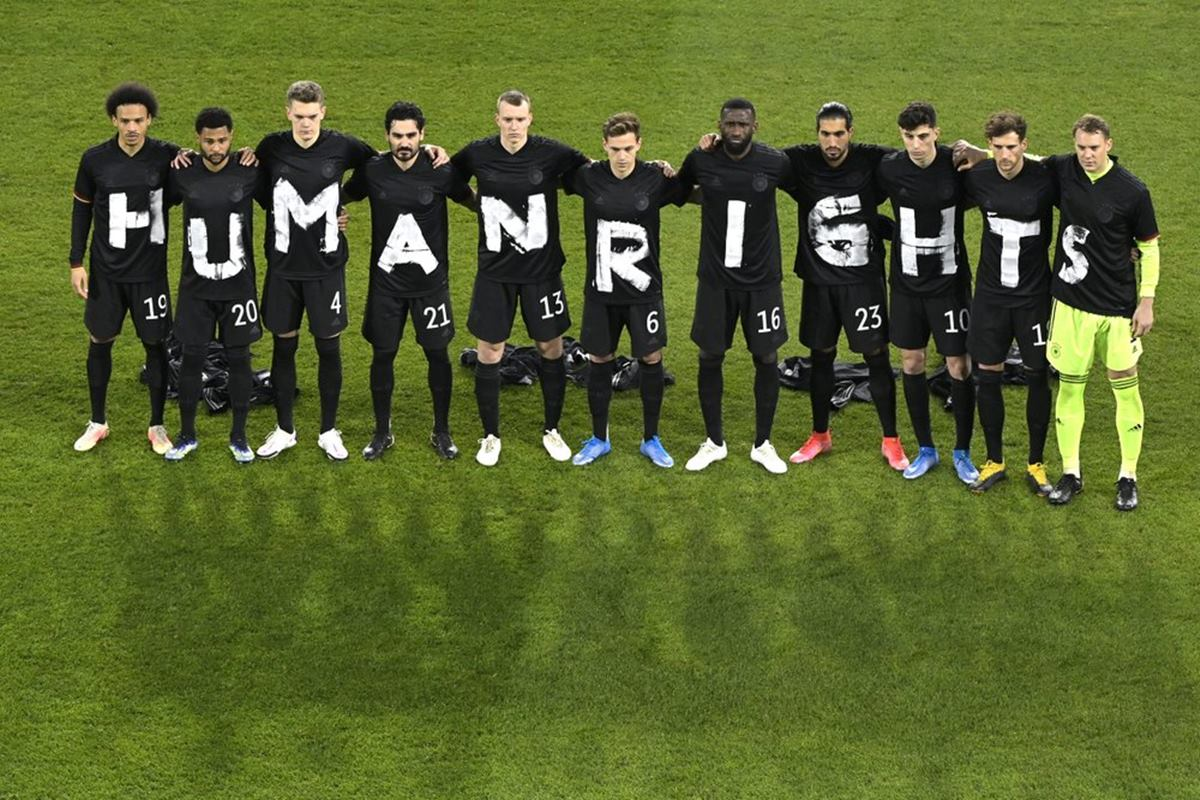 No FIFA Sanctions for Germany Team Despite 'Human Rights' Protest