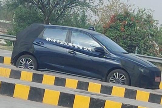 Hyundai i20 N-Line Spotted. (Image source: Autocar India)