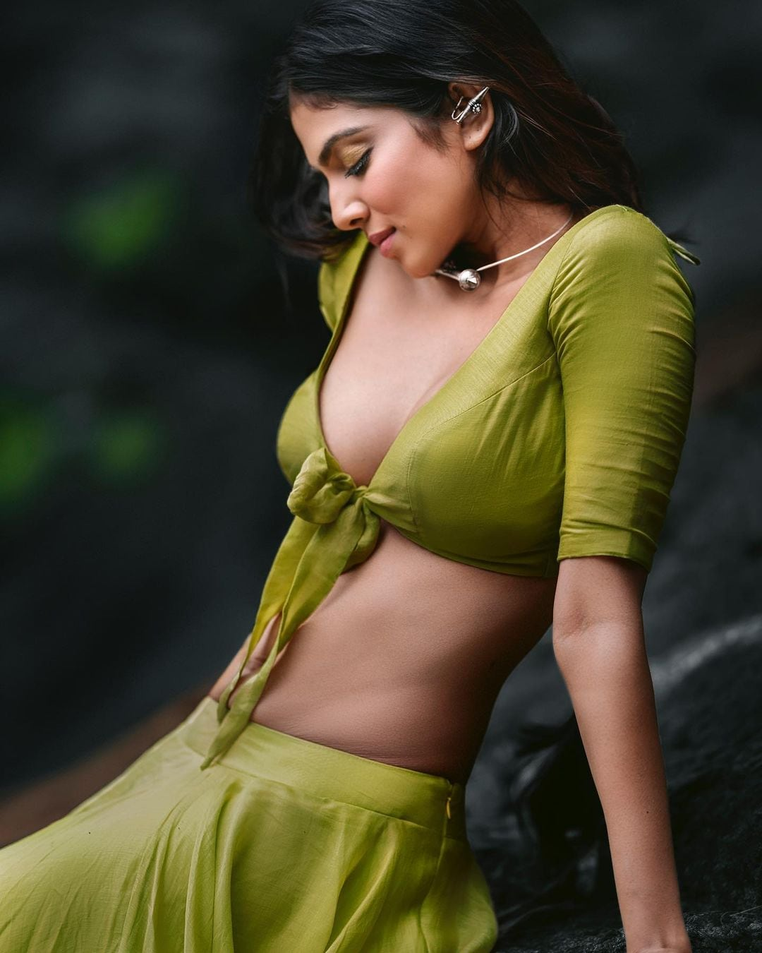 Malavika Mohanan is too hot to handle in this pic. (Image: Instagram)