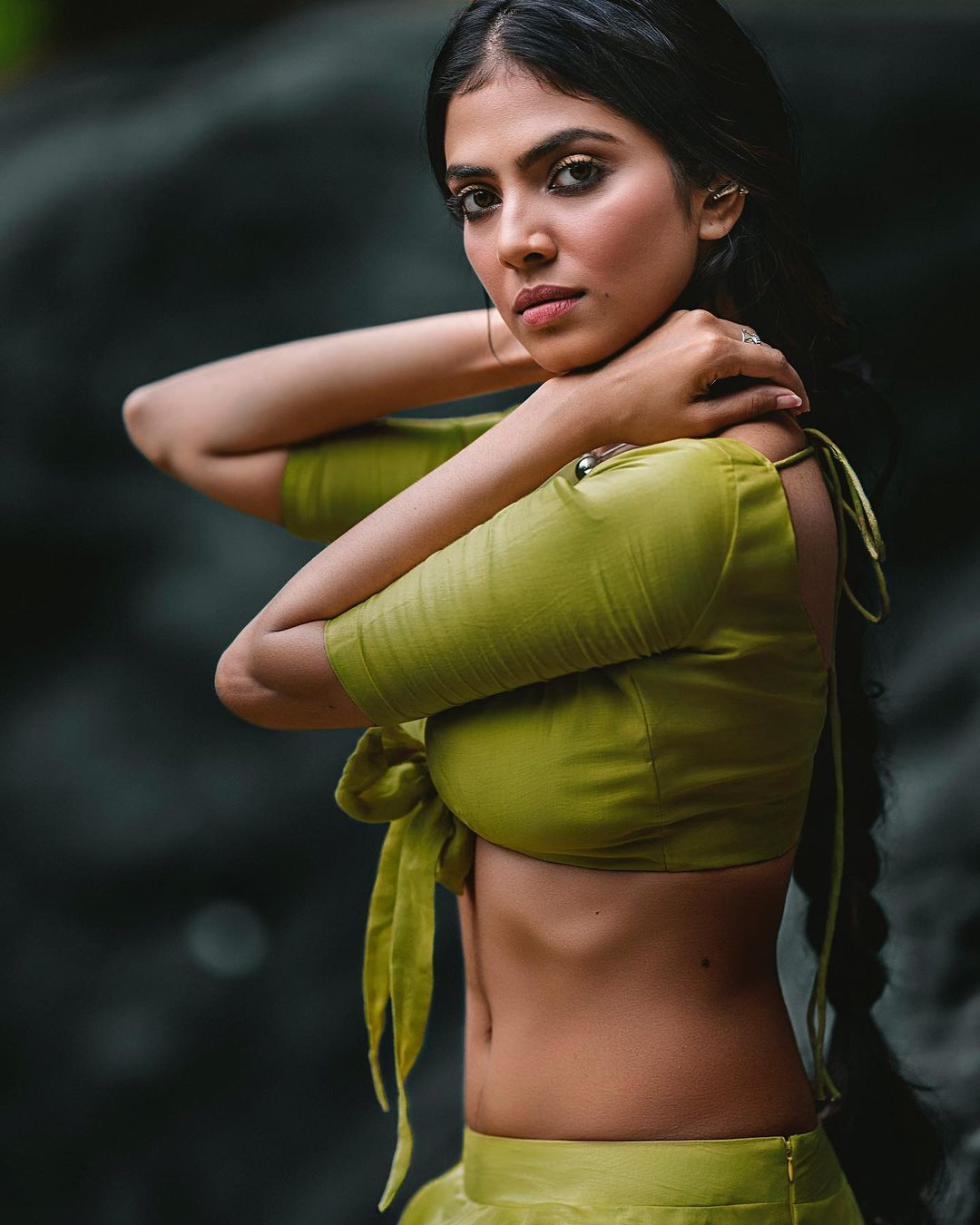 Malavika Mohanan flaunts her sexy curves. (Image: Instagram)