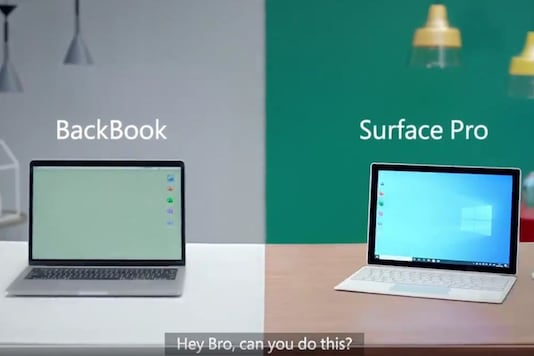 Microsoft ad mocking Apple