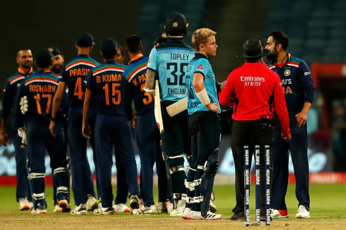 India vs England: In Pics - India Survive Sam Curran Scare to Seal Series in Thriller