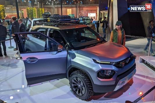 The Tata HBX. (Image: Manav Sinha/News18.com)