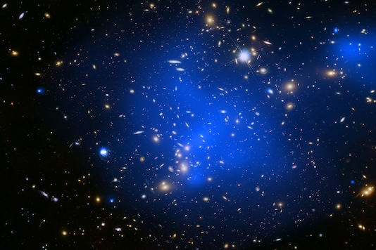 Scientists are now trying to determine whether all clusters are strange like the Phoenix or these clusters go through an atypical phase. (The galaxy cluster Abell 2744/for representation)