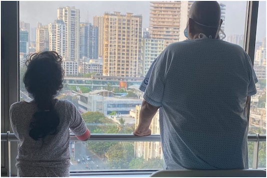 Satish Kaushik Shares Photo with Daughter, Says They are Recovering from Covid-19